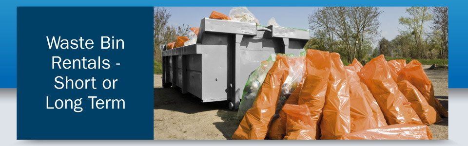 Waste Bin Rentals—Short or Long Term